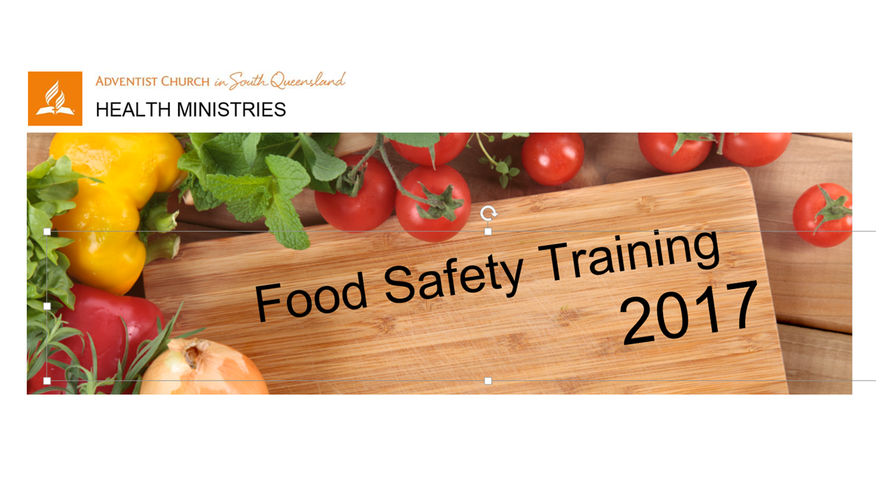 Food Safety Training - July 22 2017