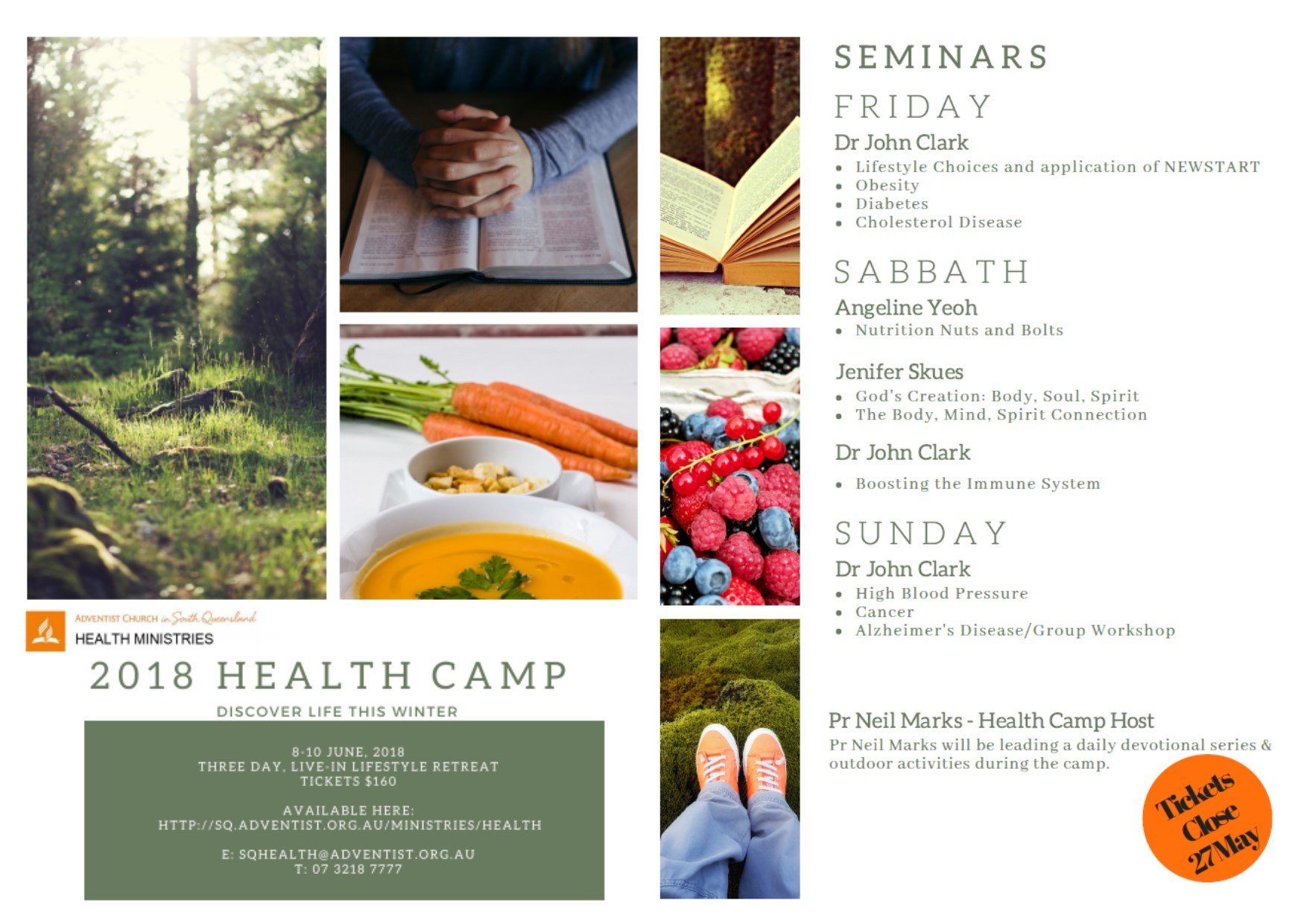 Womans health camp 2018